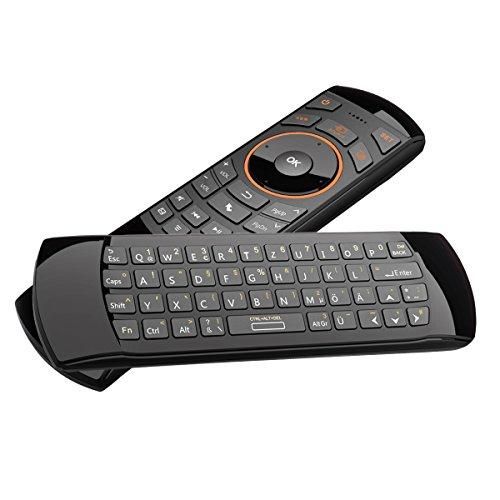 rii mini i25 wireless qwertz mini tastatur mit air. Black Bedroom Furniture Sets. Home Design Ideas